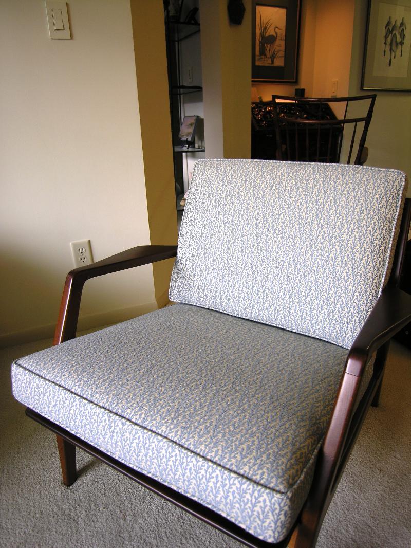 teak chair after