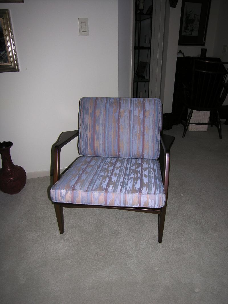 teak chair before