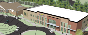 The new 35,000 sq. ft. building will provide one-stop healthcare for the whole family.