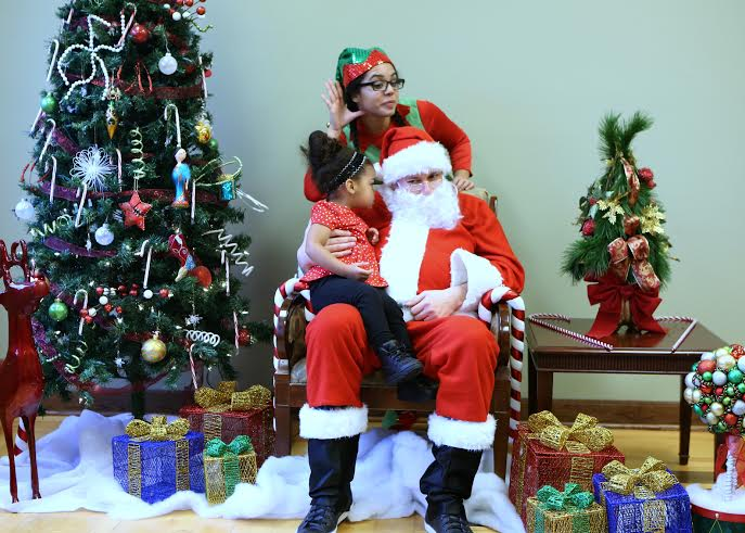 November 2014 OPEN ENROLLMENT / SANTA AT THE