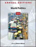 book cover  World Politics 13/14 annual edition