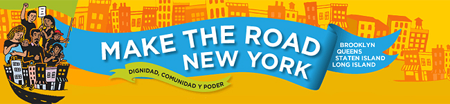 Make the Road New York Banner