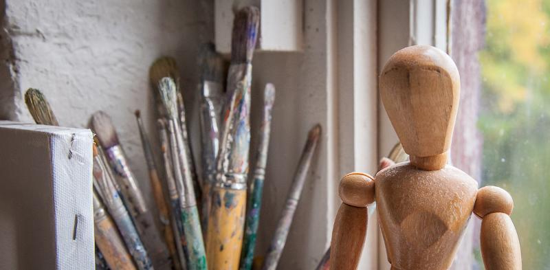 artist model brushes