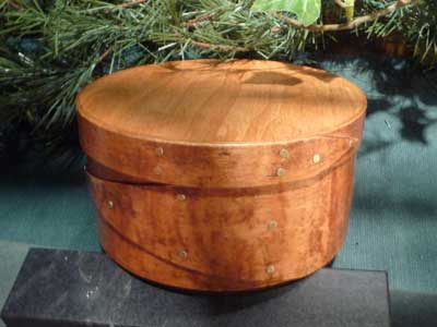 No. 5 Round Colonial Box