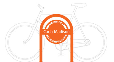 Carla Madison Bike Rack