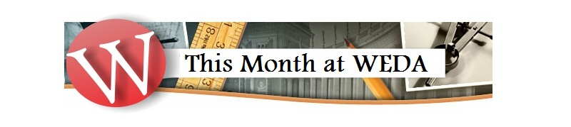 This Month at WEDA