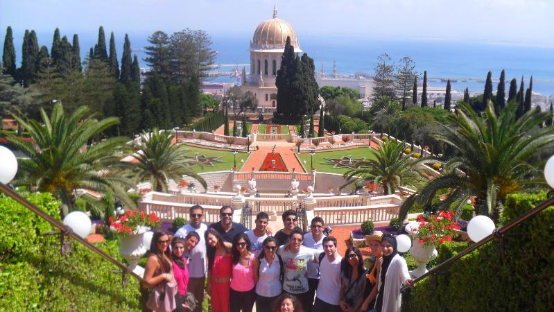 Galilee Group Bahai Gardens 2011