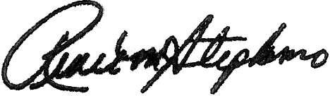 RMS Signature