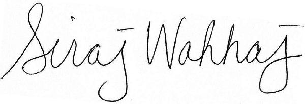siraj signature blk