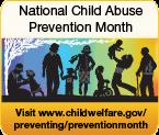 National Child Abuse Prevention Month April logo