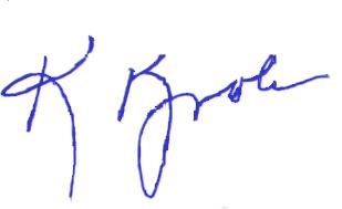 kathryn kvols signature