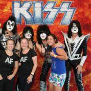 Amanda & Colleen with KISS