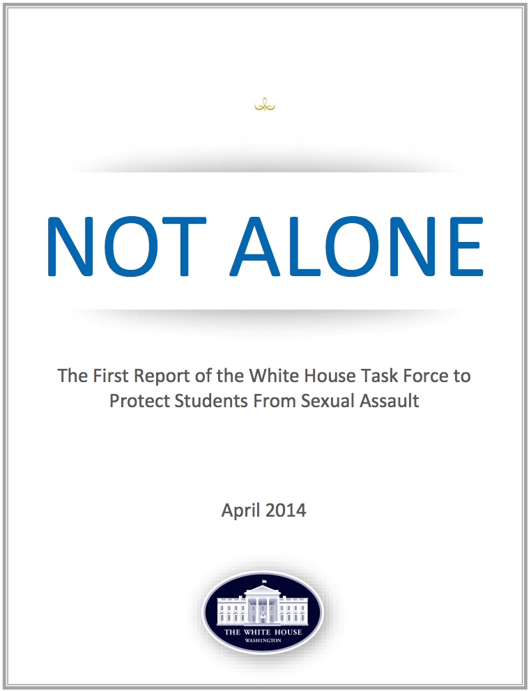 Not Alone Report cover
