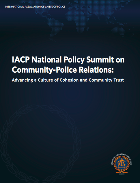 IACP Community Police Relations Cover