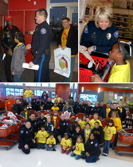 Shop With a Blue Springs Cop