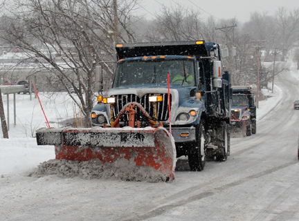 Blue Springs snow plow