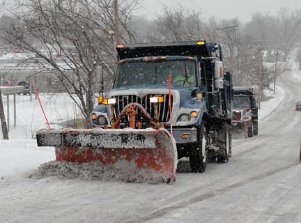 Blue Springs snow plow