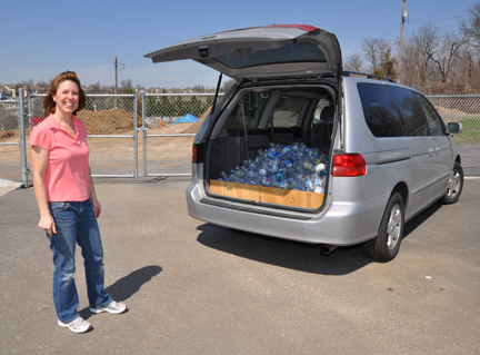 Van of Recycling