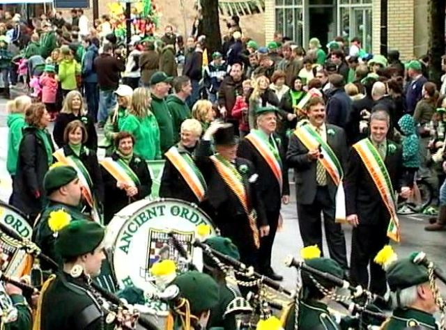 Image of St. Patrick's Day Parade in Sleepy Hollow NY