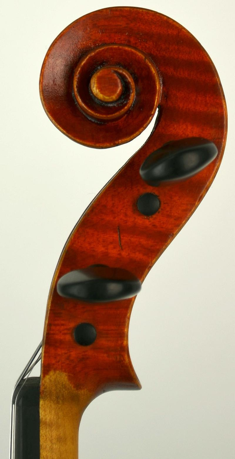 Scroll of Violin by Dirk Henry