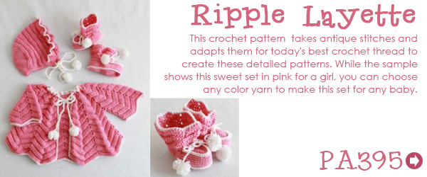 Free Crochet Crested Wave Afghan Pattern from RedHeart com