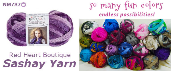 Two Days Only - Sashay & Starbella Ruffle Yarns Are 10% OFF!