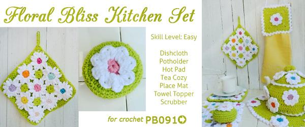 Featured Pattern Owl Kitchen Set Crochet Pattern