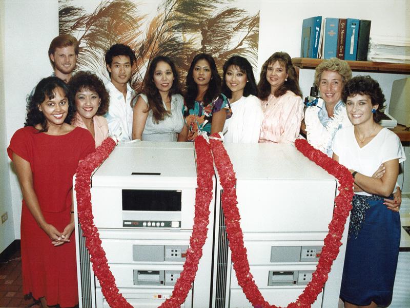 Staff - First Computer