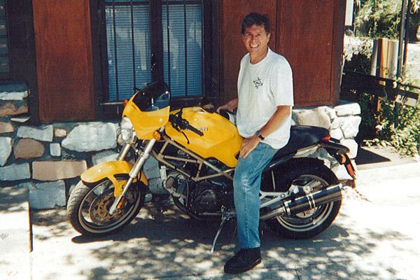 Staff - Richard Eshleman - Motorcycle