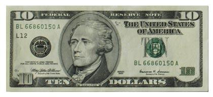 10 dola