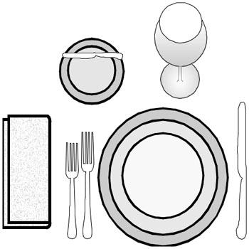 Proper Table Setting | Sandella Custom Homes & Interiors
