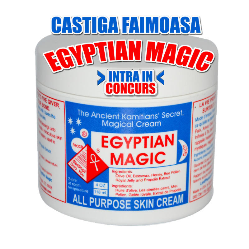 Castiga faimoasa Egyptian Magic