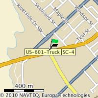 Orangeburg event map