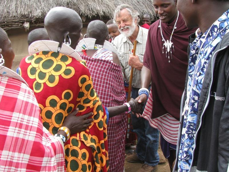 Bob Lange and Maasai Stoves & Solar Project