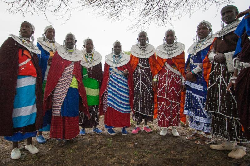 Maasai celebrate electrification