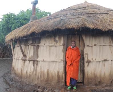 Maasai Stoves & Solar customer Mama Mbarakwo Moikan