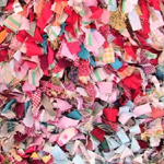 Gullah rag quilt sample