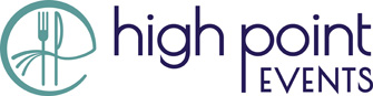 High Point Events logo - wide