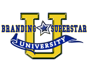 branding superstar university logo pam perry
