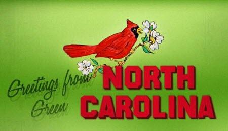 Greetings from Green Norht Carolina