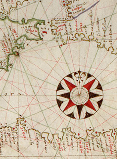 Detail from Portolan Chart