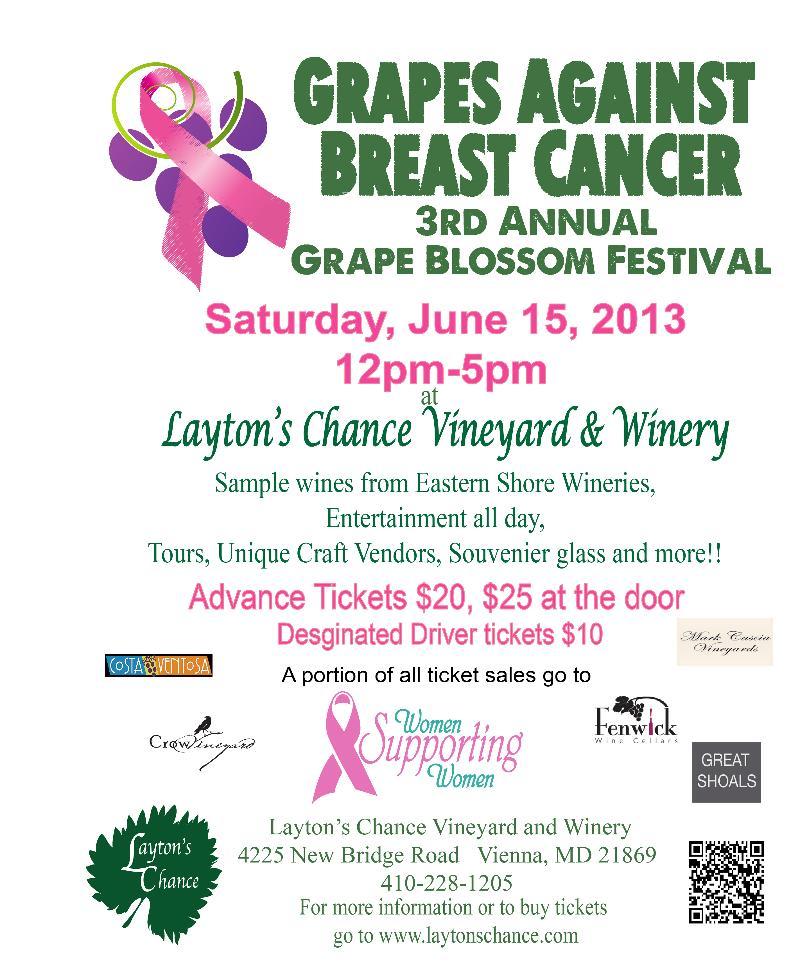 2013 Grape Blossom Flyer