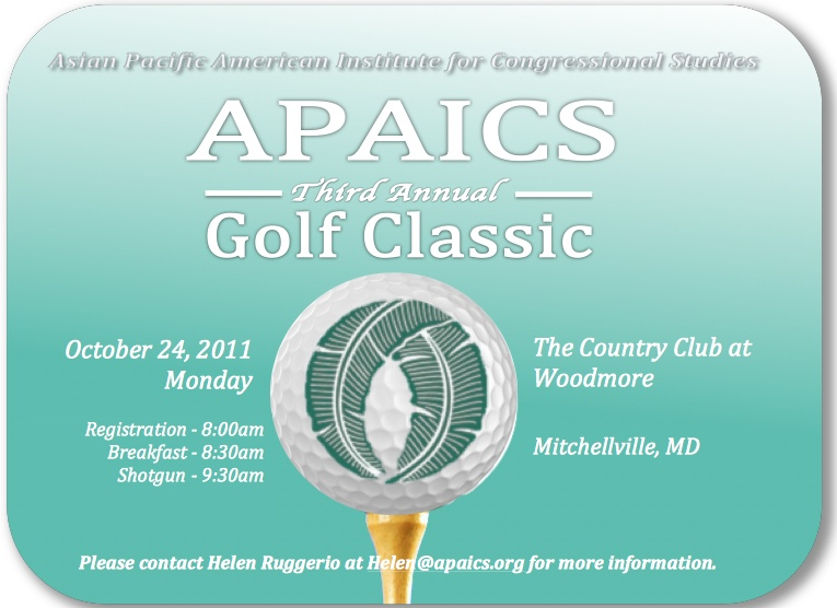 APAICS Third Annual Golf Classic, Oct. 24, 2011