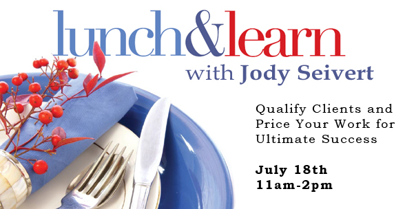 7/18 Lunch & Learn with Jody Seivert