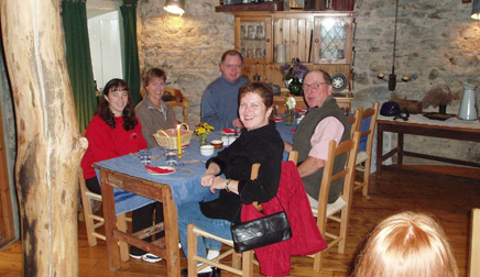 Lunch inside Ireland