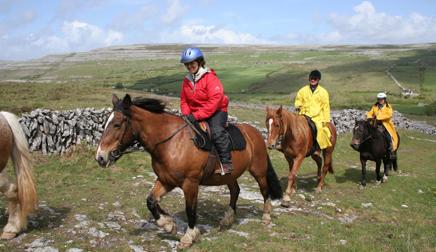 riding Ireland