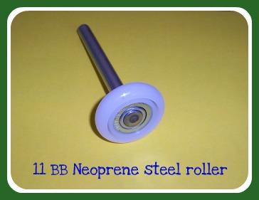 11 BB Neoprene roller