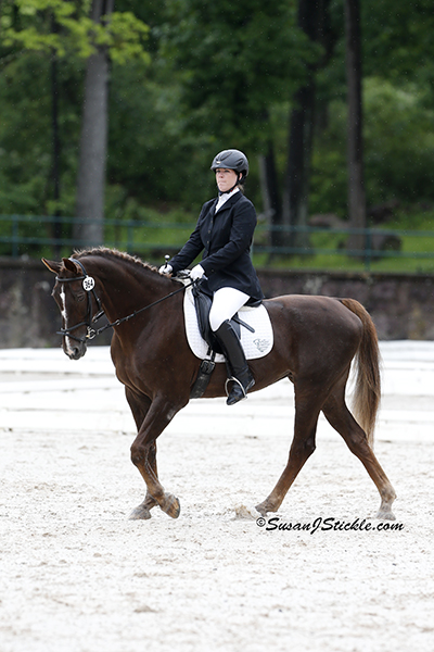 Roxanne Trunnell and Nice Touch (Dutch), owned by Roxanne Trunnell topped Grade Ia. Photo copyright SusanJStickle.com. Photo is taken in Gladstone, NJ at the 2014 USEF Para-Equestrian Dressage National Championship/ Selection Trial for the Alltech FEI World Equestrian Games™ (WEG).