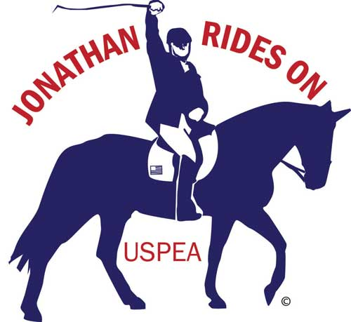 Jonathan Rides On Logo of Jonathan Wentz Memorial Scholarship Fund