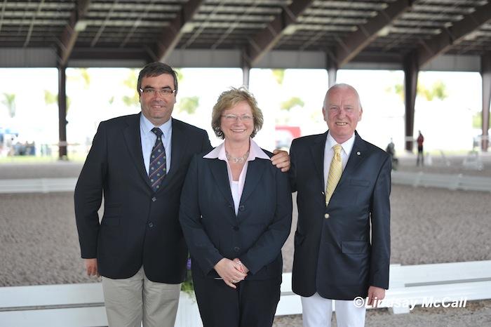 Carlos Lopes (POR), Hanneke Gerritsen (NED), Bo Ahman (SWE), Photo (C) Lindsay McCall